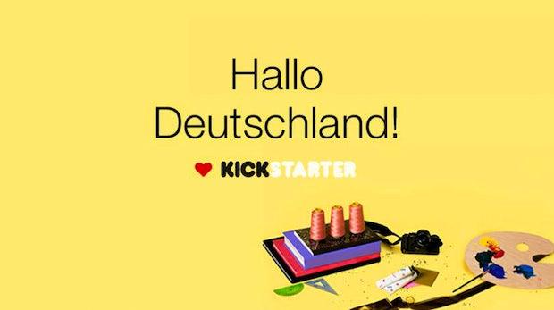 Push für den heimischen Crowdfunding-Markt: Kickstarter kommt endlich nach Deutschland