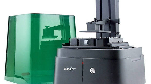 3D-Drucker mit UV-Projektor: MoonRay begeistert Kickstarter-Community