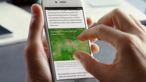 """Facebook startet """"Instant Articles"""" – auf dem Weg zum Medienunternehmen der Zukunft"""