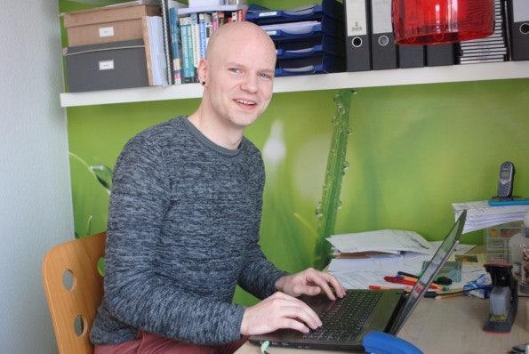 Uberspace-Gründer Jonas Pasche. (Foto: Caspar Tobias Schlenk)