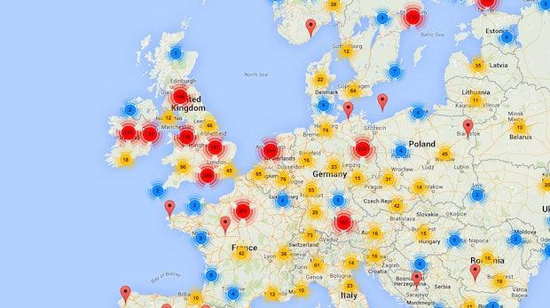 Das Crunchbase für Europas Startup-Szene: Der Tech.eu-Radar