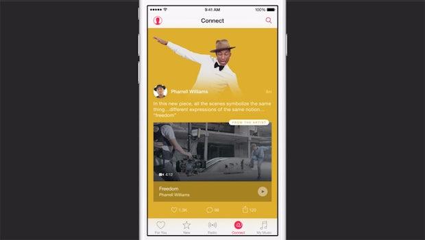 Apple Music soll Fans helfen mit ihren Lieblingskünstlern in Verbindung zu bleiben. (Quelle: Apple.com)