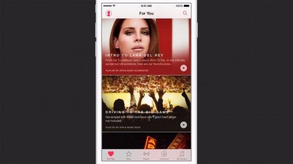 """Das """"Connect""""-Feature in Apple Music: Der einzige Schimmer von Innovation. (Quelle: Apple.com)"""