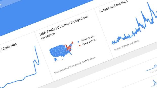 Weltweite Suchtrends in Echtzeit: Google öffnet sein mächtiges Dashboard für alle