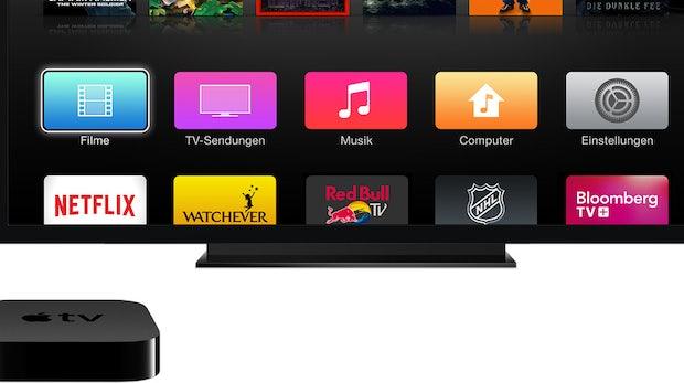 Neues Apple-TV mit eigenem App-Store: Im September soll es soweit sein