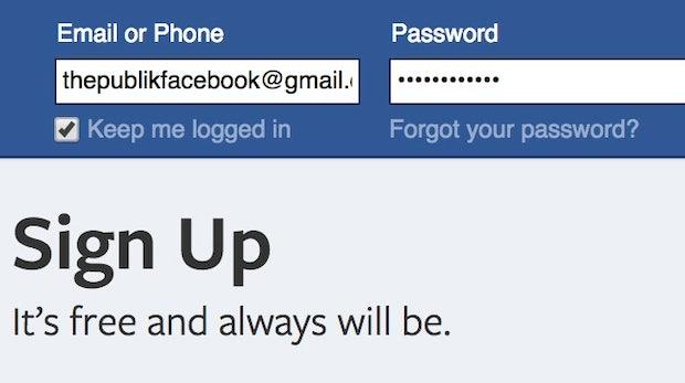 Was passiert, wenn man sein Facebook-Passwort veröffentlicht? Joe Veix hat es ausprobiert