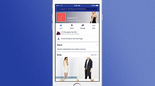 Shoppen direkt auf Facebook: Erste Tests für die E-Commerce-Offensive