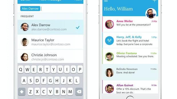 Geht es jetzt WhatsApp an den Kragen? Microsoft bringt E-Mail-Chat-App Send