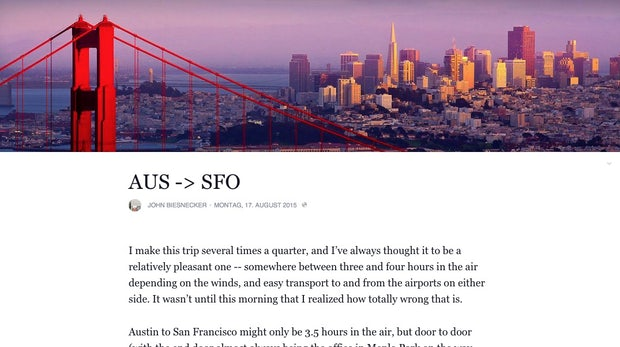 Facebook rollt Blogging-Funktion à la Medium.com aus