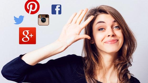 Farewell, Facebook. Ta-ta, Twitter: So löscht du ungeliebte Social-Media-Profile