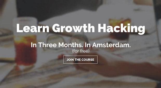 Europas erste Growth-Hacking-Academy eröffnet in Amsterdam