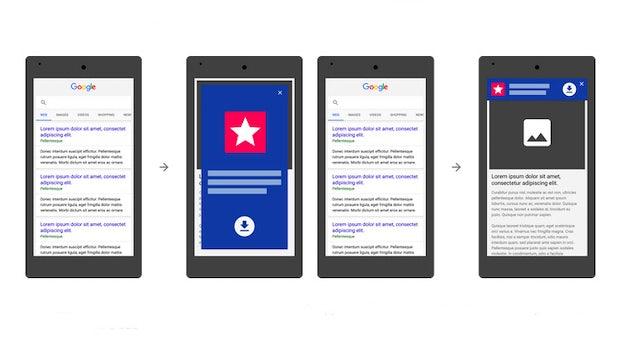 Google sagt nerviger App-Werbung den Kampf an: Entsprechende Seiten sollen abgestraft werden