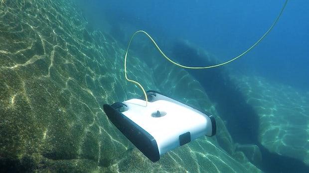 Kickstarter auf Tauchstation: Unterwasser-Drohne begeistert Crowdfunding-Community