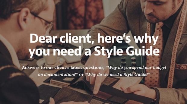 4  Gründe für einen Style-Guide (... euer Team wird es euch danken)
