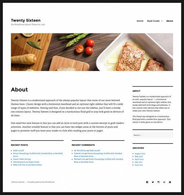 WordPress 4.4  Beta 1 steht zum Download bereit. (Screenshot: WordPress.org)