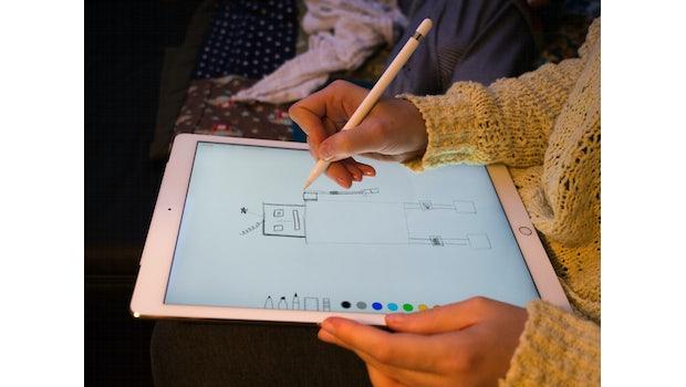 Mit dem Apple-Pencil spricht das Unternehmen besonders Designer und andere Kreative an. (Foto: t3n)