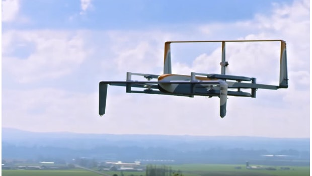 Amazon Prime Air. (Bild: Amazon)