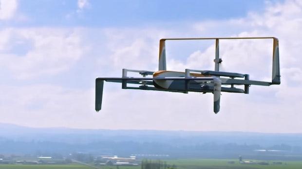 Amazon Prime Air. (Bild: Amazon)