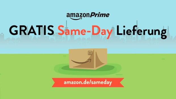 Amazon startet Same-Day-Delivery in Deutschland