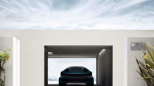 Geheimnisvoller Tesla-Rivale Faraday Future verrät Details: Elektroauto reserviert dir sogar dein Hotel