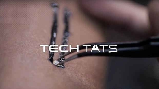 Tech-Tats: Biometrische Tattoos sollen die Zukunft der Wearbles sein