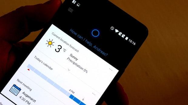 Cortana: Microsofts digitaler Assistent für Android und iOS veröffentlicht