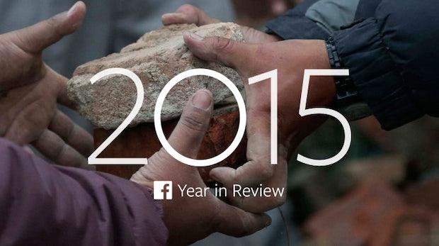 Facebook-Jahresrückblick: Das waren die wichtigsten Themen 2015