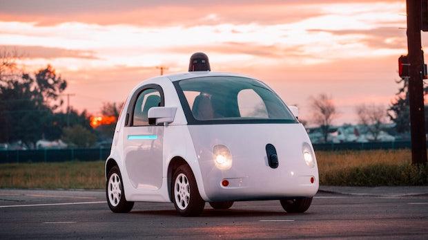 Googles Teststrecke für selbstfahrende Autos hat die besten Straßennamen