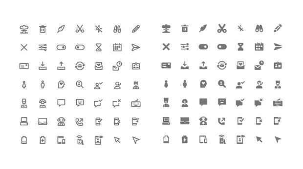 Kostenlose Icons für dein Projekt: 350 Material-Design-Symbole zum Download