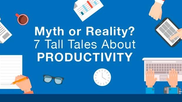 7 Mythen über Produktivität – und was euch wirklich effizienter macht