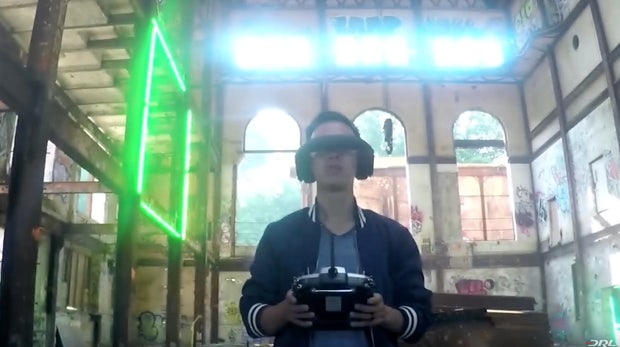 Drone Racing. (Screenshot: YouTube/DRL)