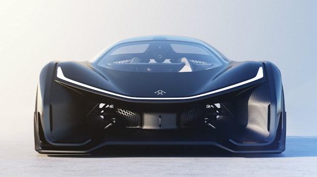 Endlich enthüllt: Das geheimnisvolle Faraday-Future-Auto ist ein 1.000-PS-E-Sportwagen