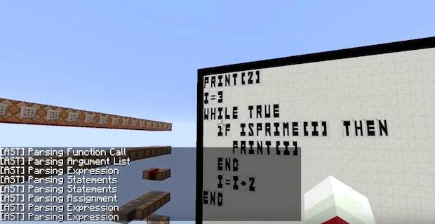 In-Game-Coding: Dieser YouTuber programmiert BASIC in Minecraft