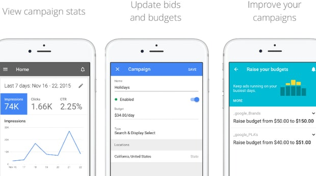 Google launcht AdWords-App endlich für iOS