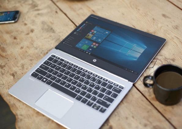 Schlank und schick: HPs neues EliteBook Folio. (Foto: HP)