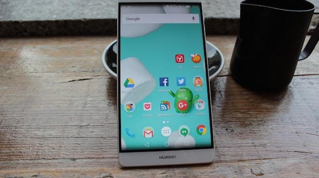 Schon besser: Huawei Mate 8 mit Nova Launcher. (Foto: t3n)
