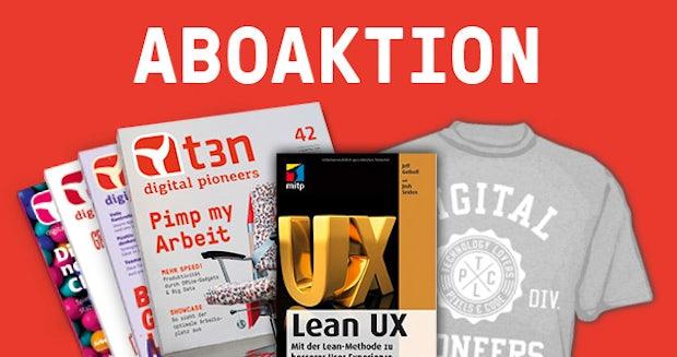 Mit der Lean-Methode zu besserer User Experience – 30 Bücher im Abo-Bundle