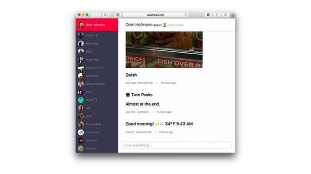 Hype-App Peach ist jetzt auch am Desktop verfügbar