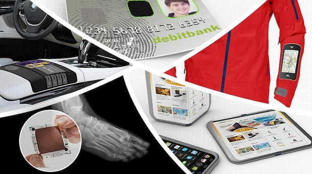 Dieses Display bindest du um deinen Arm: FlexEnable bringt dich zurück in die Zukunft
