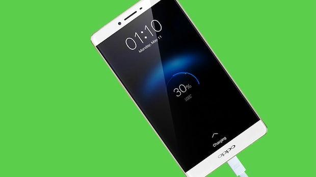 Smartphone-Akku in nur 15 Minuten laden: Neue Oppo-Technologie macht's möglich