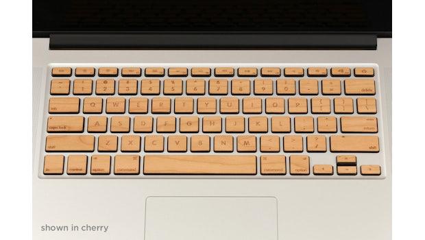 Lazerwood-Keys für das MacBook Pro (Foto: Lazerwood)