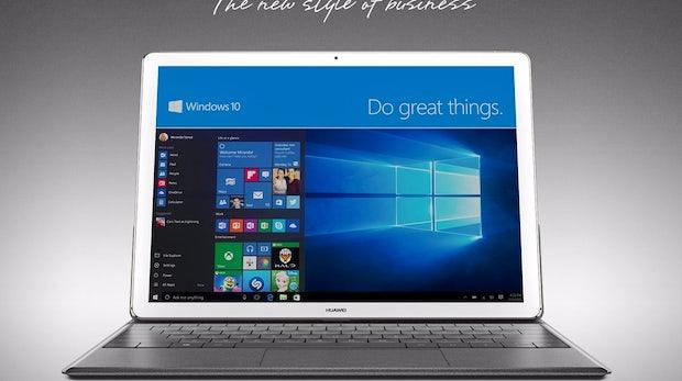 Huawei MateBook: Ein iPad Pro mit Windows 10 [MWC16]