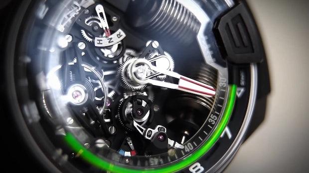 Schweizer High-Tech-Uhren-Startup HYT sammelt 23 Millionen Dollar von Nestlé-Manager ein