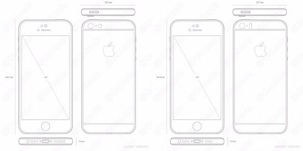 "iPhone SE: Abmessungen und Design. (Bild: <a href=""http://www.nowhereelse.fr/iphone-se-photos-nouvel-iphone-5se-112697/"">Nowhereelse</a>)"