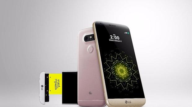 LG G5. (Bild: LG)