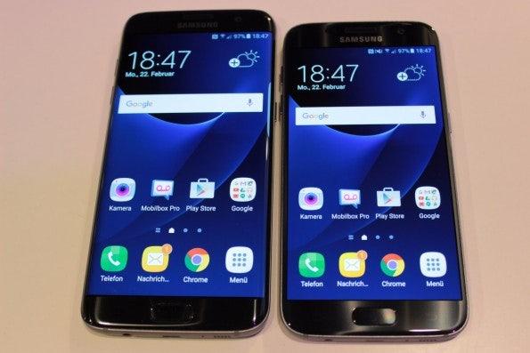 Samsung Galaxy S7 und S7 edge. (Foto: t3n)