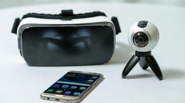 Virtual Reality auf dem Vormarsch: 360-Grad-Kameras von LG und Samsung – mit Support von Facebook