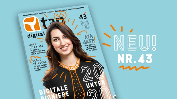 """t3n 43 ist fertig: Schwerpunkt – """"20 unter 20 – Wie junge Pioniere unsere Zukunft gestalten"""""""