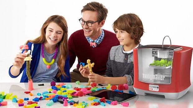 Mattel präsentiert 3D-Drucker für Kids: Macht sich der zweitgrößte Spielzeughersteller überflüssig?