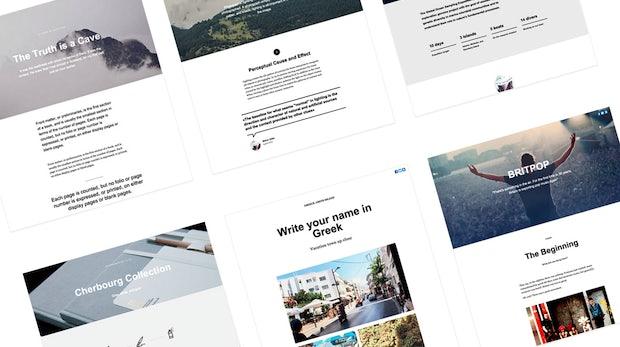 Schicke Webseiten in Windeseile zusammenklicken: So funktioniert Tilda